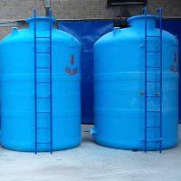 Untuk penampungan air, kimia, limbah, foodgrade. Filament Winding System, kapasitas 5 M3  < 150 M3. Knock-Down System (Perakitan di lokasi) - Kapasitas > 150 M3, UV Protection (Garansi 10 Tahun)